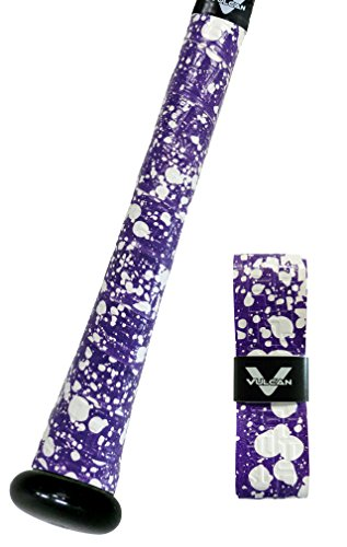 Vulcan Bat Grip, Vulcan 1.75mm Bat Grip, Purple Splatter