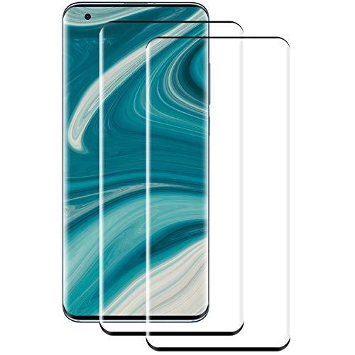 PUUDUU Cristal Templado para Xiaomi Mi 10/10 Pro, [2 Piezas] Cobertura Completa,...