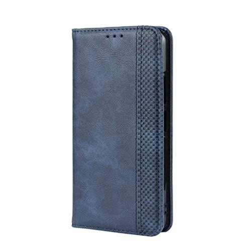 KERUN Cover per Vivo Y70 Cover, Antiurto Flip Custodia Carte di Credito da Funzione Stand in PU Pelle Premium Portafoglio Protezione di Lunga Durata. Blu