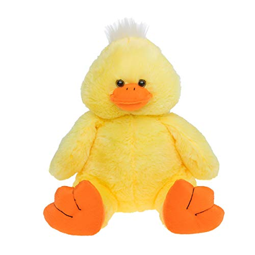 Bear Factory Cuddly Soft 16 inch Stuffed Yellow Plush Duck...We Stuff 'em...You Love 'em!