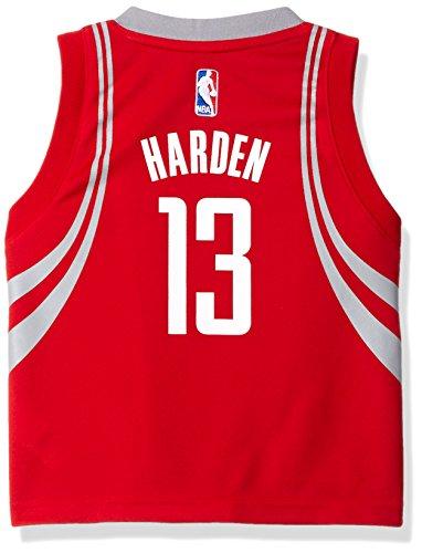 NBA Toddler Houston Rockets Harden Away Replica Jersey-Red-2T