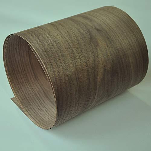 NO LOGO 1pc Natural American Crown Cut Walnut Holzfurnier