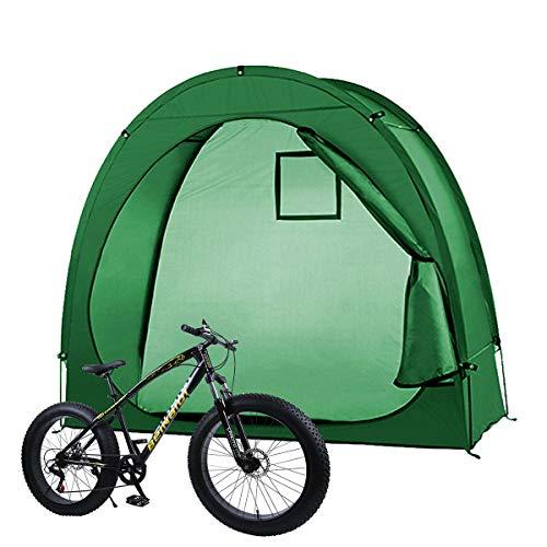 Tienda de campaña para bicicleta, tienda de campaña, impermeable, antipolvo, plegable, para jardín, exterior