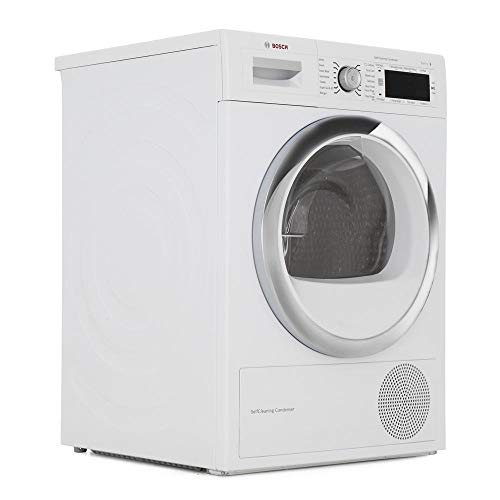 Bosch WTW87561GB Serie 8 9kg Condenser Tumble Dryer With Heat Pump - White