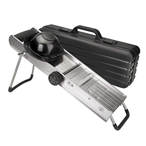 Lacor 60357 Mandoline en Inox avec Protecteur