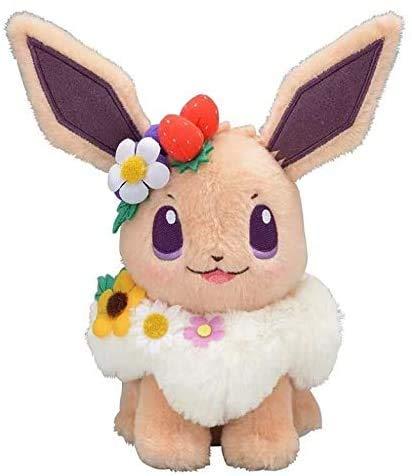 Xiaokang Nice Plush Toys Authentic Japan Anime Game Pikachu&Eievui