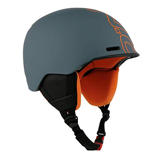 Indigo O'Neill Helm Core | Orange | Ski & Snowboard Helm (Asphalt Orange, M | 54-58 cm) (Asphalt Orange, L | 58-61 cm)