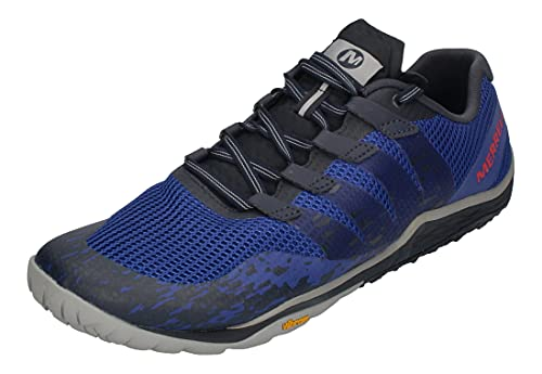 Merrell Trail Glove 5, Zapatillas Deportivas para Interior Hombre, Multicolor (Surf The Web), 40 EU