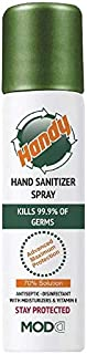 HANDY ANTISEPTIC AND DISINFECTANT HAND SANITIZER SPRAY - 100ML