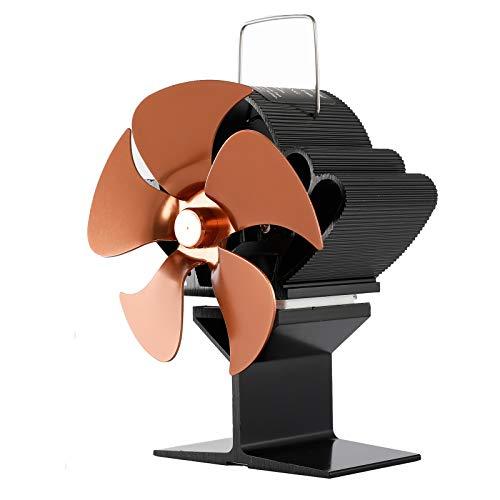 SF103S 5 Flügel, wärmebetriebener Ofenventilator für Holzöfen, Brennstoff, energiesparend, leise, Ecofan, effizient, wärmebetriebener Ofenventilator, 5 Flügel, Holzofen, Kamin-Ventilator