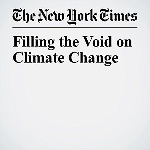 Filling the Void on Climate Change audiobook cover art