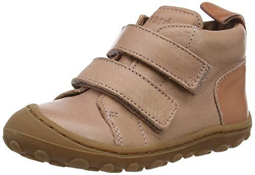 bisgaard gerle Jungen Unisex Kinder First Walker Shoe, Nude, 24 EU