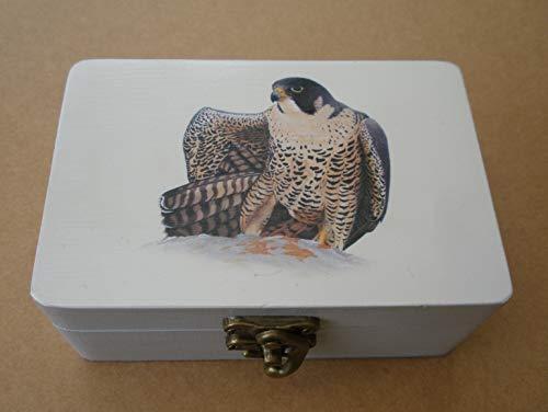 Caja artesana decorada