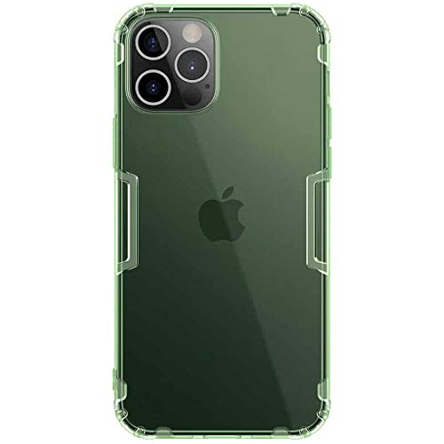 "Nillkin Case for Apple iPhone 12 / Apple iPhone 12 Pro (6.1"" Inch) Nature Series Back Soft Flexible TPU Green Color"