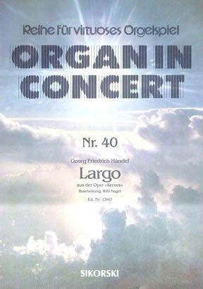 Georg Friedrich Händel-Largo aus der Oper \'Xerxes\'-Electronic Organ-BOOK