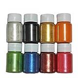 Strahlendes Metallic-Pigmentpulver Epoxidharz Farbe Mica Pulver Epoxidharz Dye Für Kunstharz...