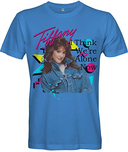 Men's Blue Tiffany I Think We're Alone Now T-shirt