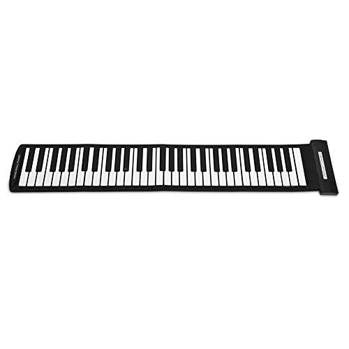 CUEA Piano Enrollable, Teclado Midi portátil, Teclado Flexible,...