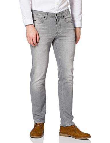 BOSS Herren Taber BC-P Tapered-Fit Jeans aus Super-Stretch-Denim