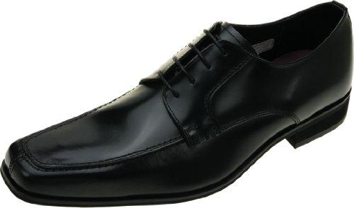 [ヒロミチナカノ] Uチップ ビジネスシューズ 革靴 4E 幅広 (129HACJ) BLACK (ブラック) 大きいサイズ リーガルコーポレーション 日本製 (28.5cm (4E), BLACK (ブラック))