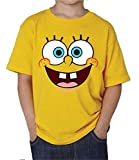 The Fan Tee Camiseta de NIOS Bob Esponja Dibujos Animados 3-4 Aos