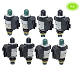 8 PCS 722.9 7-Speed Auto Transmission Solenoids Kit Set Replacement for Mercedes Benz (Re-manufactured)
