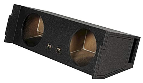 Rockville REC97 Dual 12' Ported SUV Subwoofer Sub Box Enclosure - Behind 3rd Row