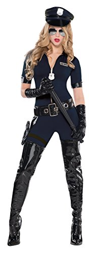 Christy\'s Damen-Kostüm Polizistin Uniform, Adult Small, 34/36