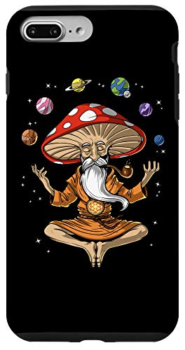 iPhone 7 Plus/8 Plus Magic Mushroom Buddha Psychedelic Hippie Zen Yoga Meditation Case
