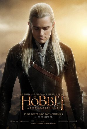 Import Posters The Hobbit : The Desolation of Smaug – Legolas – Brazilian Movie Wall Poster Print - 30CM X 43CM