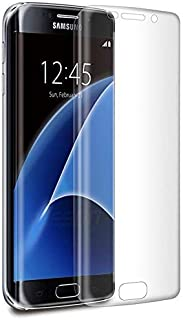 Samsung Galaxy S7 EDGE Curved Tempered Glass Screen Protector clear
