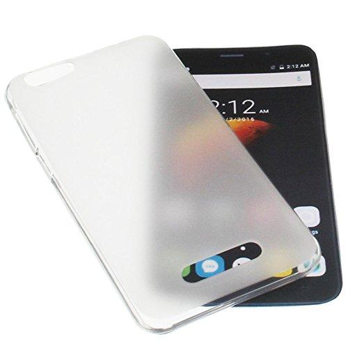 foto-kontor Funda para Cubot Dinosaur Note S Funda Protectora de Goma TPU para móvil Transparente Blanca