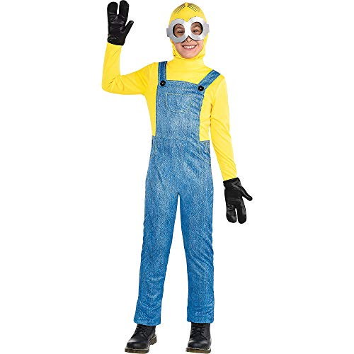 Party City Minion Halloween Costume for Boys, Minions: The Rise of Gru, 3-4T, Includes Jumpsuit, Goggles and More