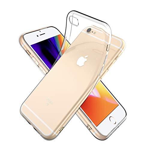 Youriad iPhone 6S / 6 ケース カバー   透明 クリア ソフト カバー  特徴 軽量 薄型 ストラップ 滑り止め 落下防止 TPU(iPhone6S iPhone6 カバー 専用)