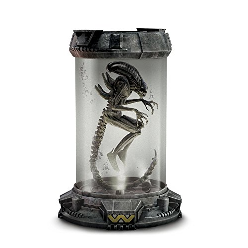 The Bradford Exchange Officially Licensed Handcrafted Aliens 'Xenomorph Specimen' Sculpture That Suspends In Water Under Glass With Built-In LED Illumination For Terrifying Realism Exclusively From
