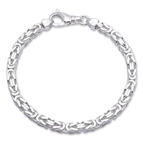 925 Silberarmband: Königsarmband Silber 6mm breit - Länge frei wählbar KA0060