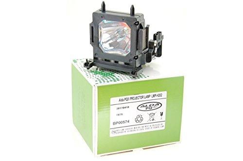 Alda PQ-Premium, Beamerlampe/Ersatzlampe kompatibel mit LMP-H202 für Sony VPL-HW30, VPL-HW30AES, VPL-HW30ES, VPL-HW40E, VPL-HW40ES, VPL-HW50, VPL-HW50ES Projektoren, Lampe mit Gehäuse