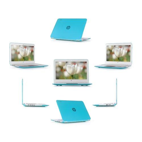 iPearl mCover Hard Shell Case for 14' HP Chromebook 14 G3 X000 Series, Chromebook 14 G4 (T4M32UT#ABA Series), Chromebook 14-ak000 Series, Stream 14-Z000 Series Windows laptops (Aqua)