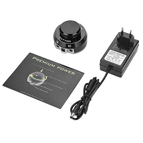Tattoo Power - Fuente de alimentación de tatuaje atómico profesional para kit de máquina de tatuaje EU Plug
