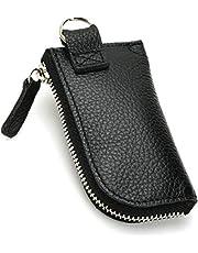 [comaji] 小銭入れ メンズ 革 ミニ財布 コインケース 本革 小さい 財布 キーホルダー コンパクト