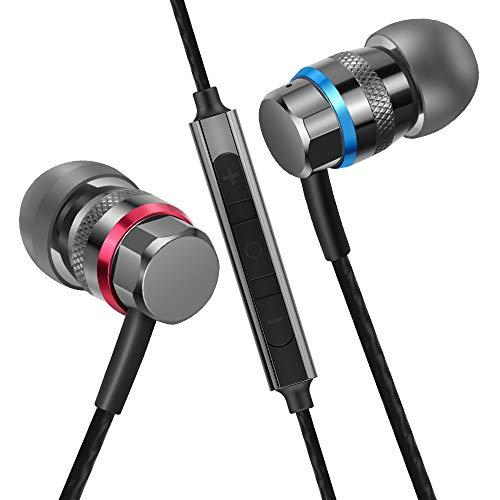 HIFI WALKER A1 Auriculares Intrauditivos de Alta Resolución de Atenuación del Ruido (con Micrófono)