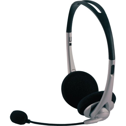 Power Gear Universal Over the Ear Headphones, All In One, Microphone, Work From Home, Music, Gaming, Works for iPhone Android PC Mac Skype Zoom Teams Discord VoIP, Black, 98974