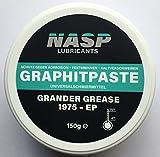 NASP® Graphitpaste Grafit Rostschutz Montagepaste Allzweckpaste Grander Grease 1975 EP - Made in Germany - 150gr
