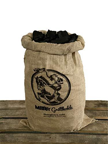 Miller 10 kg Grillkohle, aus nachhaltiger Forstwirtschaft