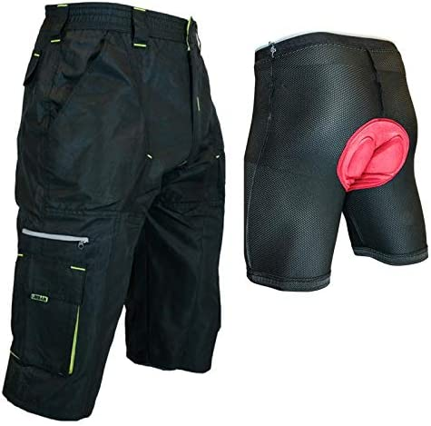DK Gravel Shorts II 3//4 Baggy Mountain Bike Cycling Shorts with Magnet Pockets
