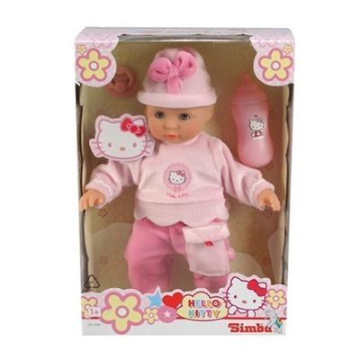 Simba 105012768 - My Love Hello Kitty Baby Set, 4-sortiert