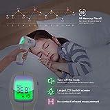 Immagine 2 kkmier termometro febbre infrarossi professionale