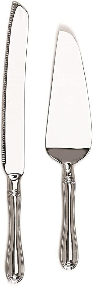 Diamond2Deal Nickel-Plated Many popular brands 1 year warranty Westwood Set Knife Server