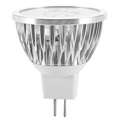 WJIN Bombilla LED, 12V MR16 3W Bombilla LED Lámpara de decoración de Aluminio Caliente para la Barra casera del Hotel del Restaurante