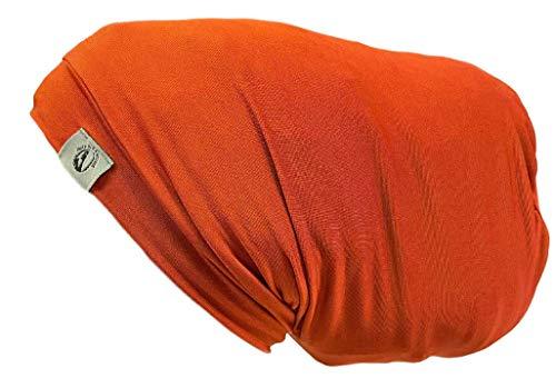 Fairy Black Mother Dreadlocks Locs Cap (Large,Orange Rust)
